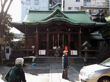 鐵砲洲稲荷神社 本殿
