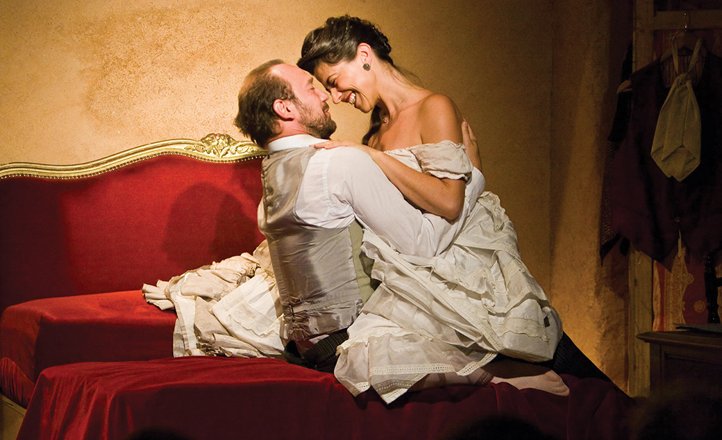 VICTOR HUGO MON AMOUR - 19h30 - Salle Molière - Ronde