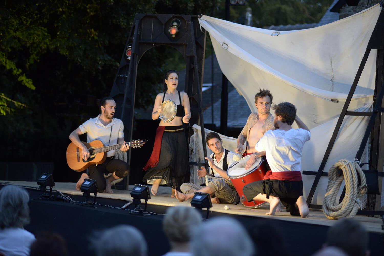 LES FOURBERIES DE SCAPIN - 15h25 - Salle Molière / Ronde