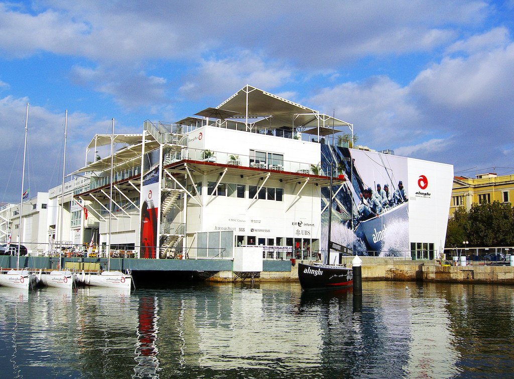 Alinghi Base, America's Cup, Valencia / Picture: NUSSLI Group