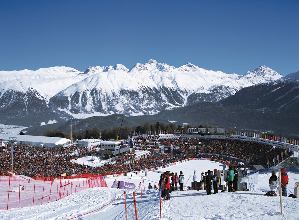 FIS Alpine World Ski Championship St. Moritz 2003 / Picture: NUSSLI Group