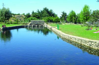 Piscinas de navafr a segovia bionova piscinas naturales for Piscinas naturales navafria