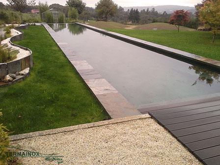 Alberca natural en Galicia