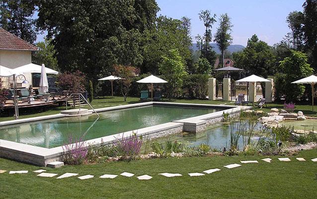 Convertir tu piscina en naturalizada bionova piscinas for Construccion de piscinas naturales