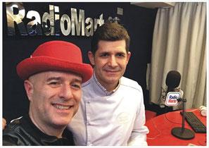Francesco Di Rosa con Gigio Rosa di Radio Marte