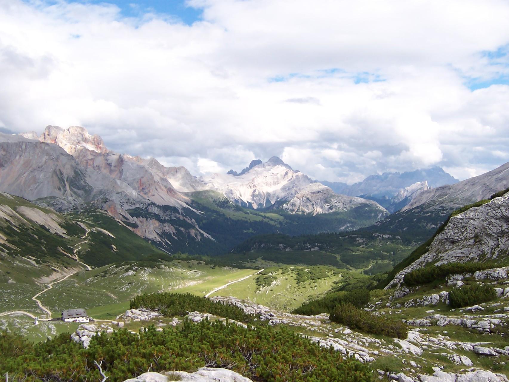Sui monti del Sennes