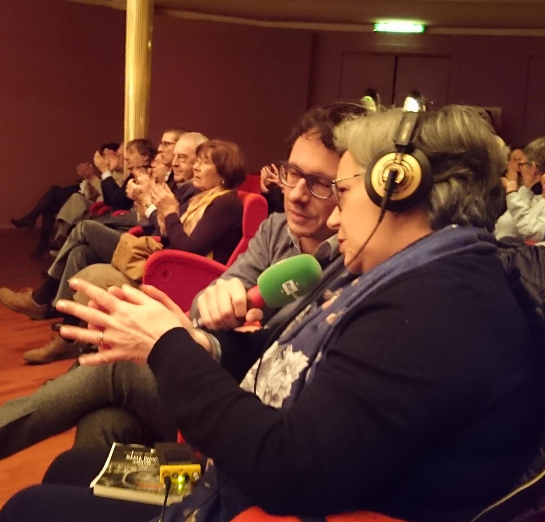 Torino, Auditorium RAI. Intervista con P.Cairoli per RadioTreSuite