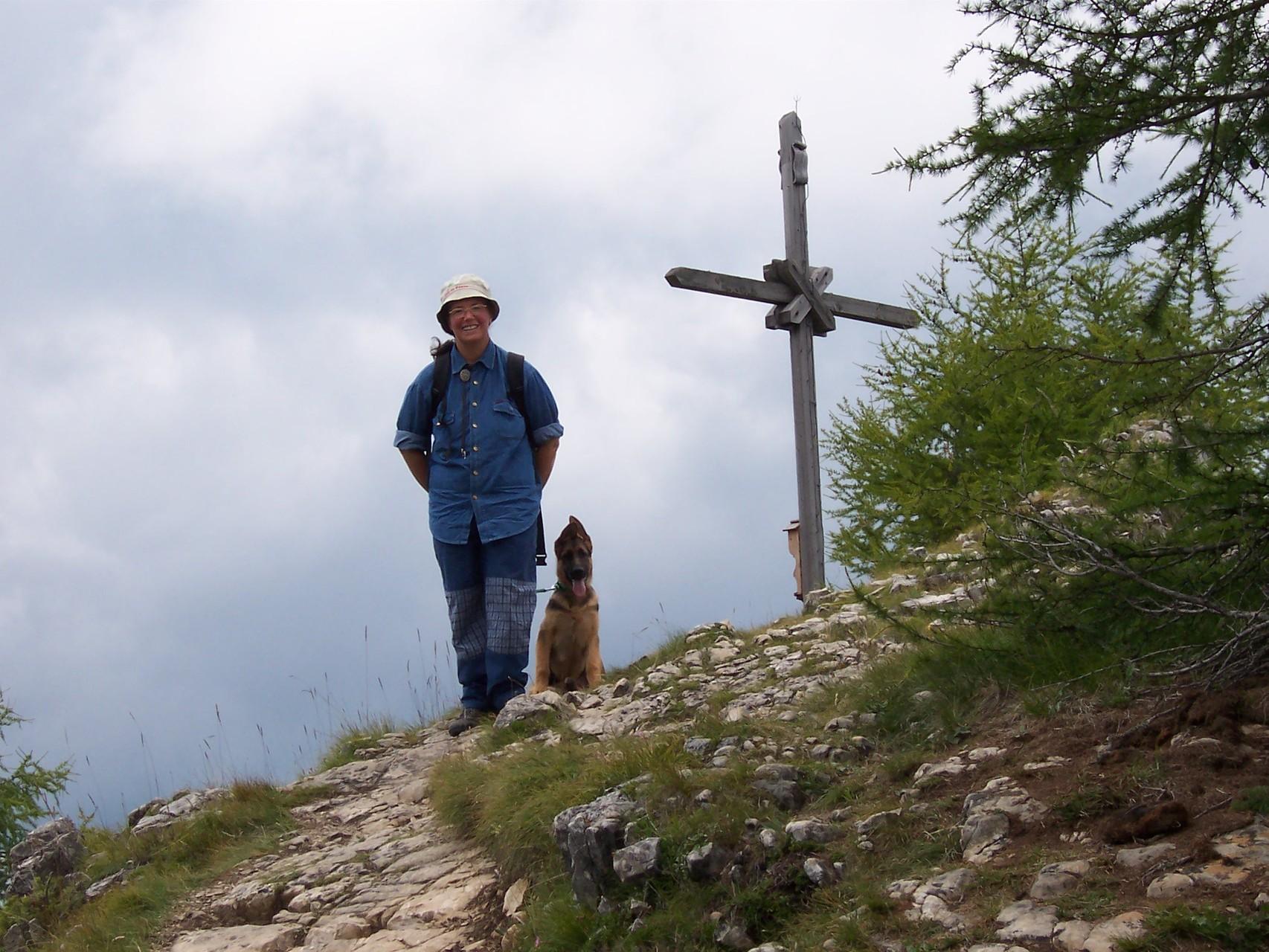 Sulla cima del Rit (Val Badia)