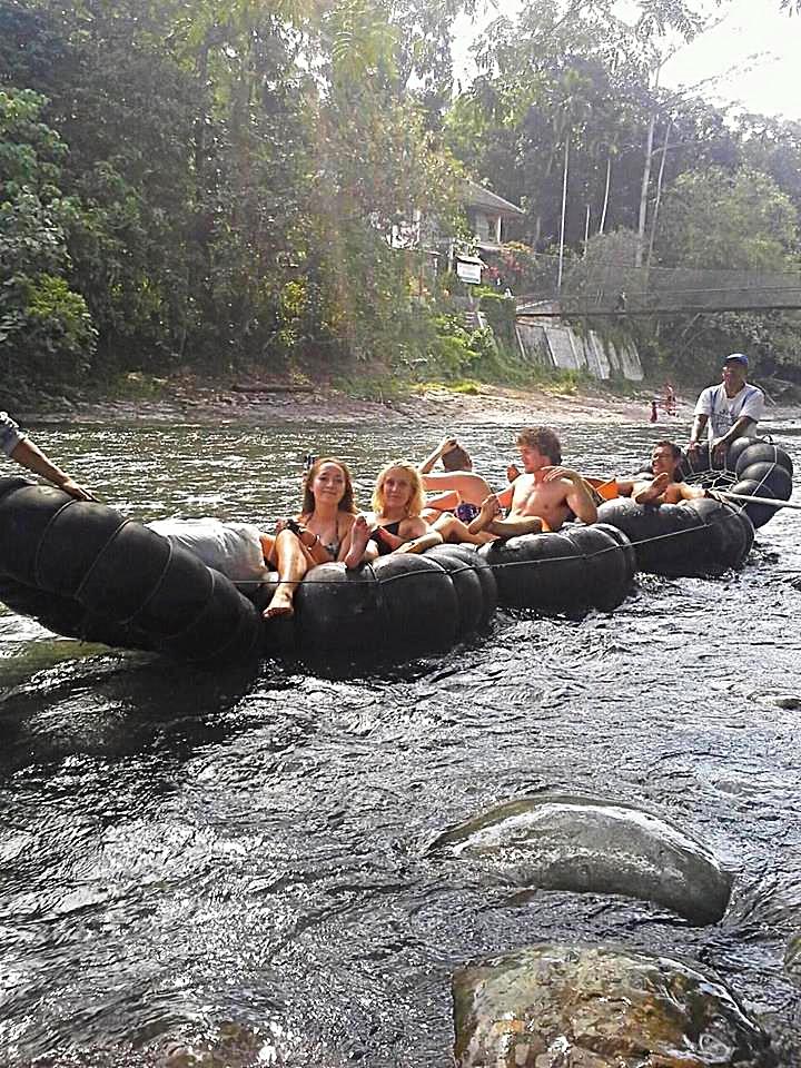 tube rafting