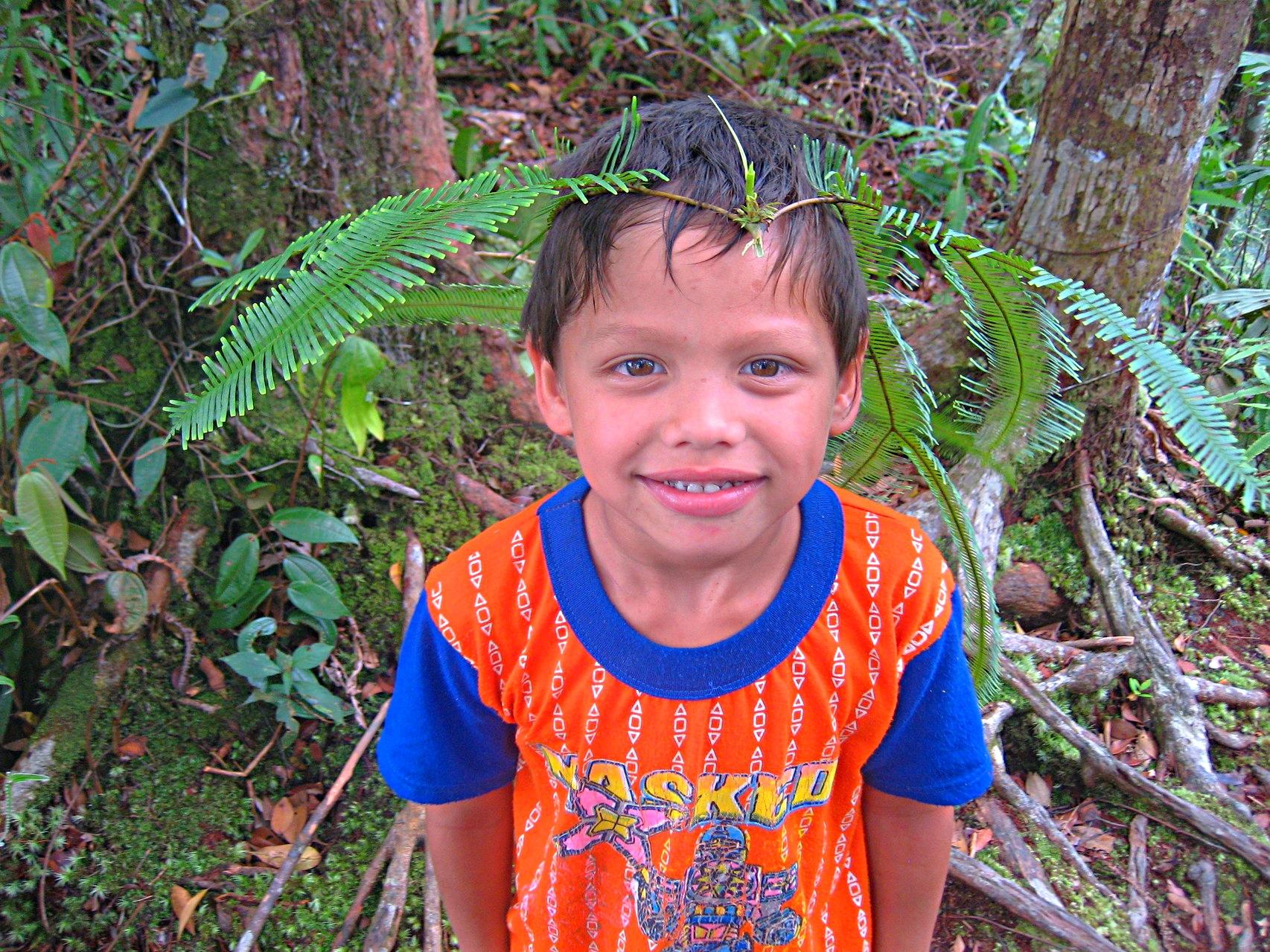 Dschungeltrek mit kleinem Kind
