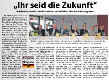 Wochenblatt Elbe & Geest, 16.09.2017