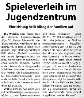 Wochenblatt Elbe- und Geest, 29.04.2020