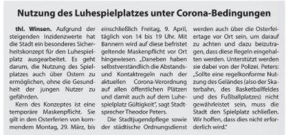Wochenblatt Elbe- und Geest, 27.03.21