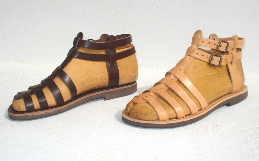 d1141d87212763 Leather sandals from Greece - Ananias Sandals