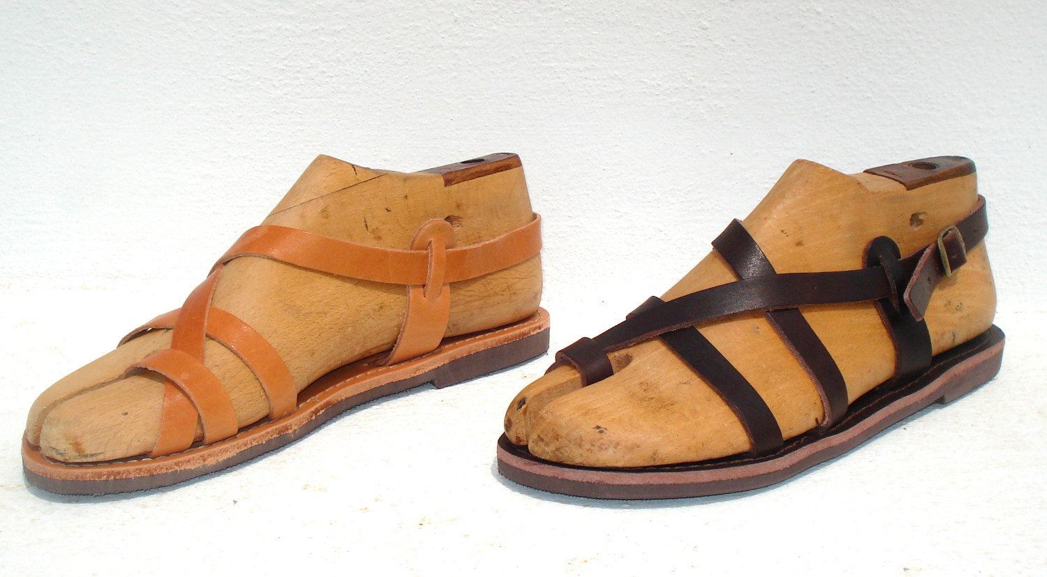 6c97eb92ccab Leather sandals from Greece - Ananias Sandals