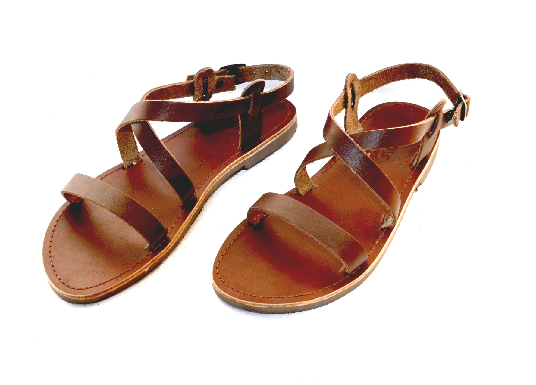Leather Sandals From Greece Ananias Sandals