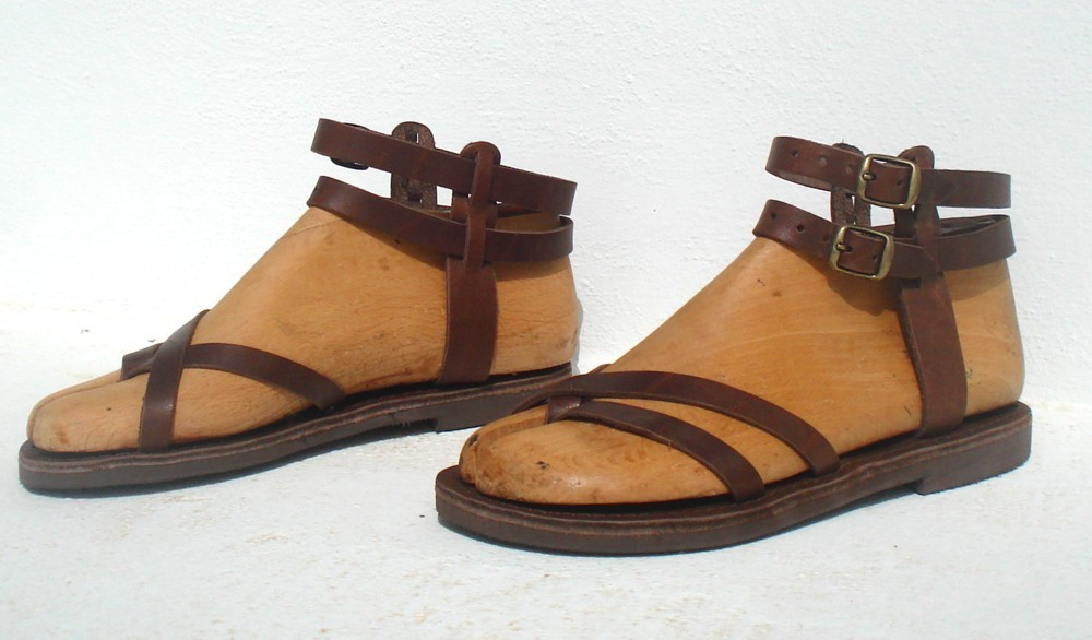 Greece Sandals Ananias From Greece From Leather Sandals Leather cAL4Rq3Sj5
