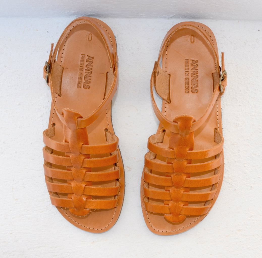 bec823a1d79c48 ... and will change with exposure to sunlight from the light colored sandals  to a golden brown color. Available in natural