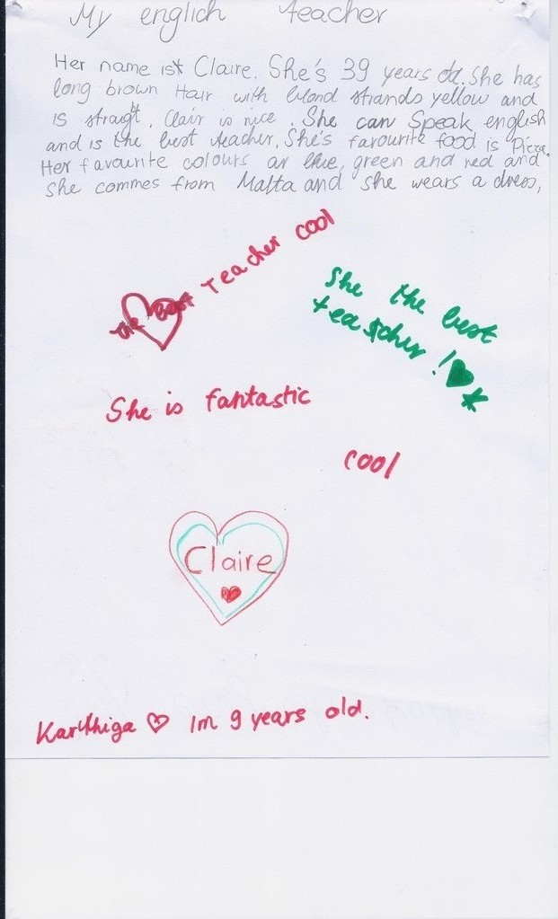 Karthiga 9 years old