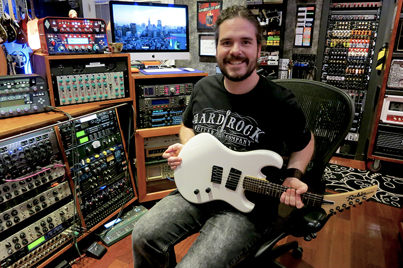 Jack Power guitar wireworld Michael Wagener amps plug-ins studio
