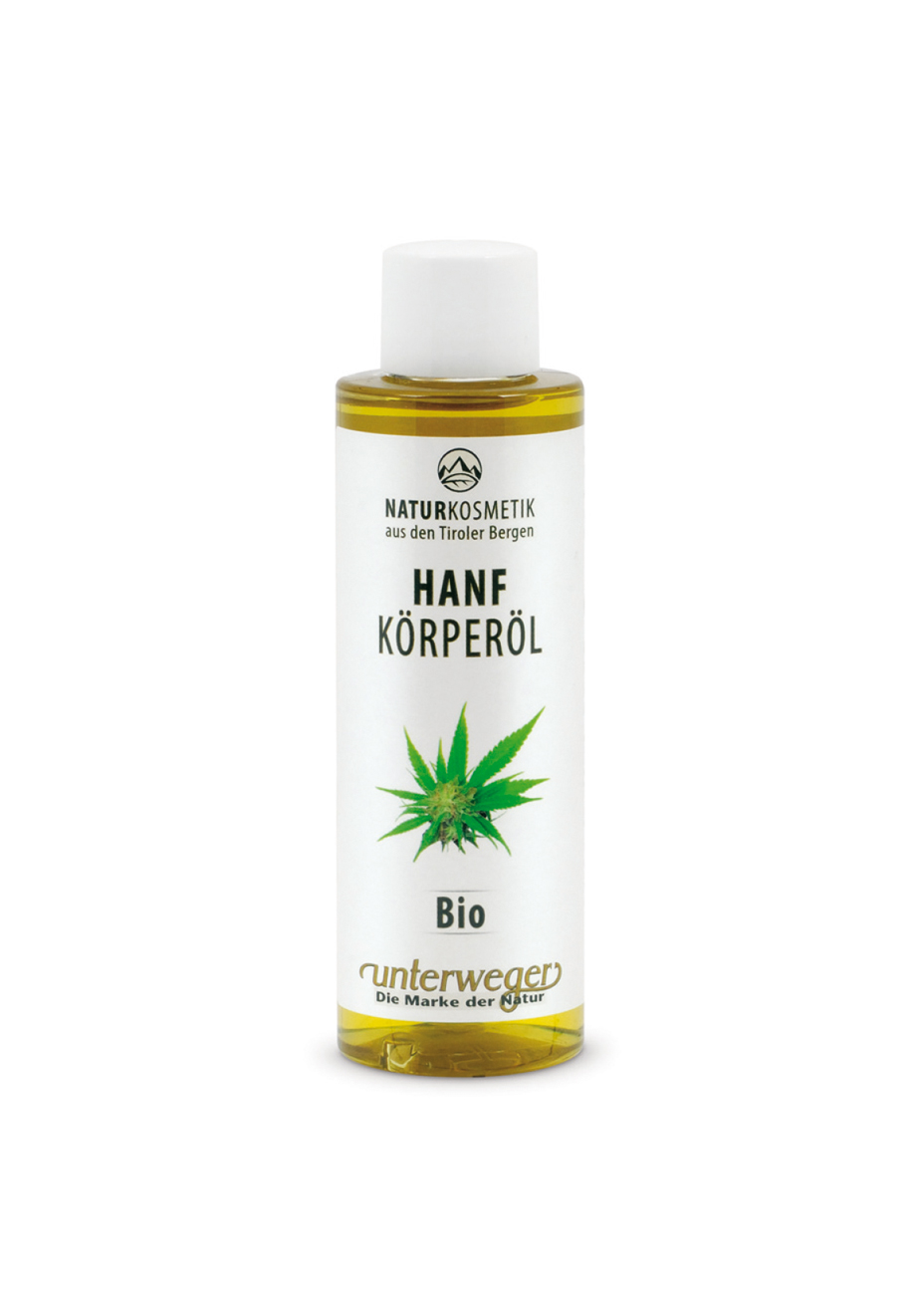 Naturkosmetik Hanf Körperöl Bio 150ml