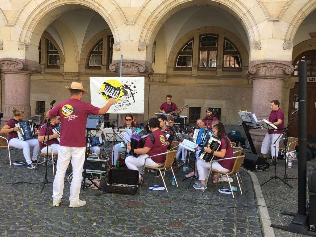 Unsere Gastgeber vom Show-Orchester Görlitz