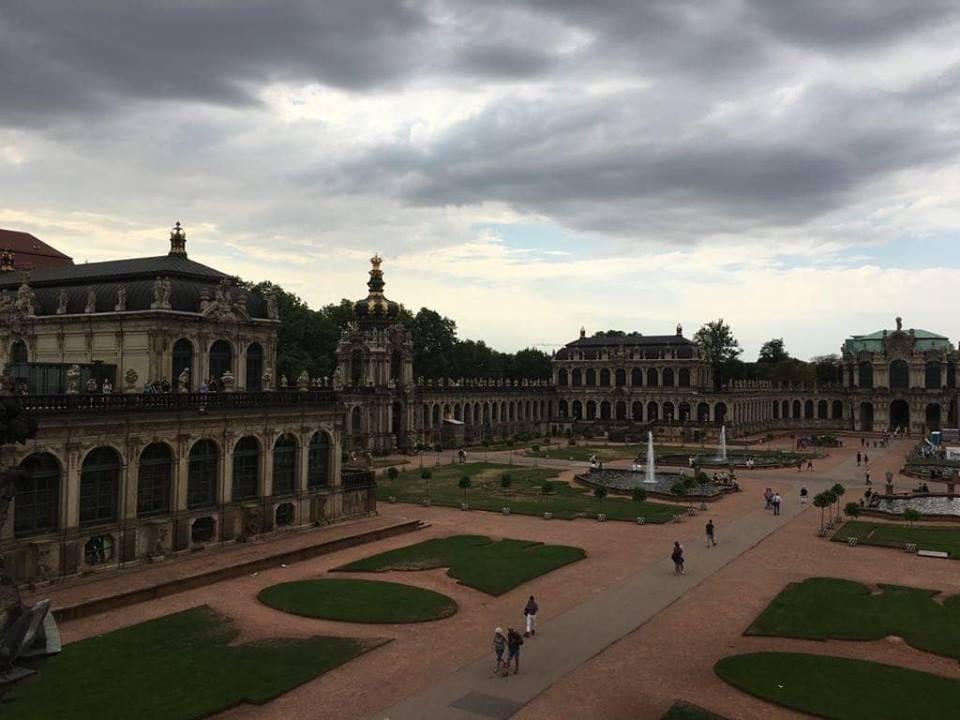 Sightseeing in Dresden