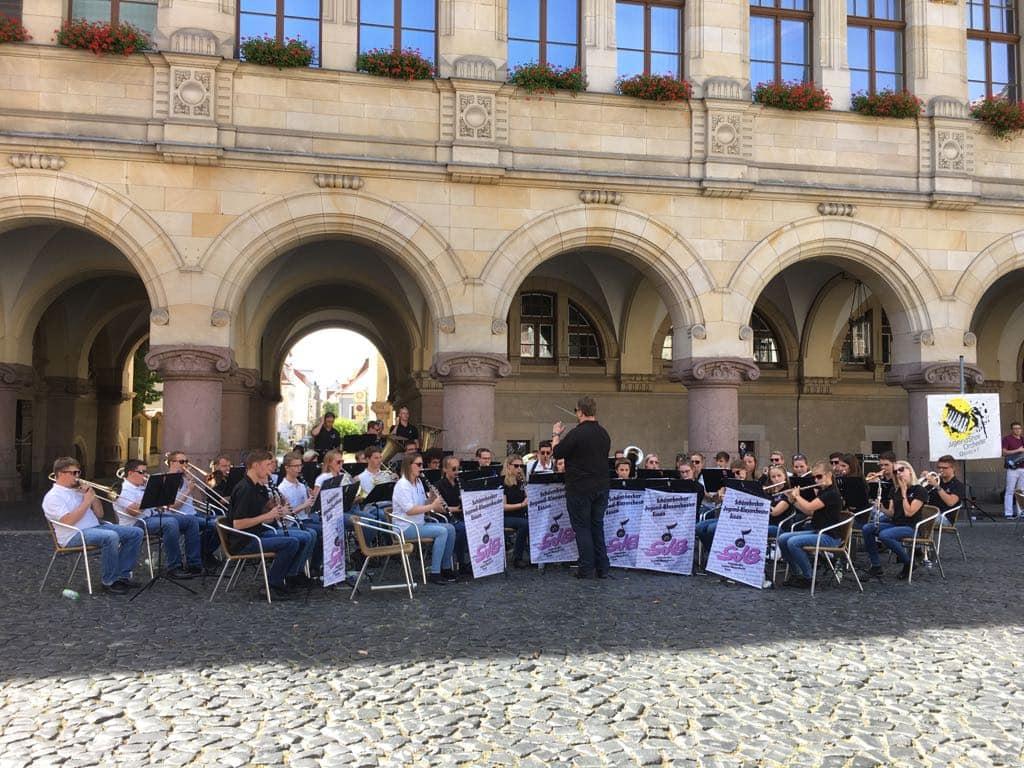 Konzert in der Görlitzer Innenstadt