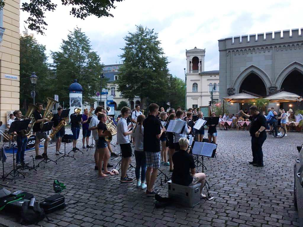 Konzert im Holländischen Viertel von Potsdam