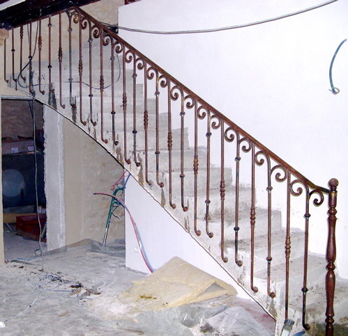 rampes escaliers les rampes rampes d escaliers et tr mies erminox avec garde corps verre barre. Black Bedroom Furniture Sets. Home Design Ideas