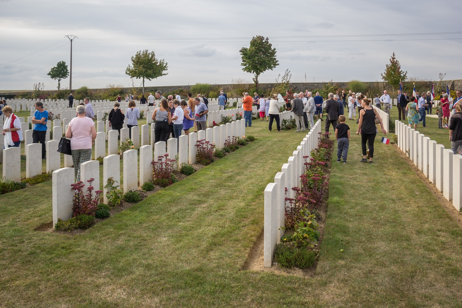 Chacun est invité à un moment de recueillement en parcourant le cimetière