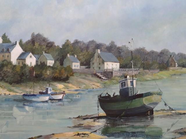 une toile de Jean-Marie Dollé