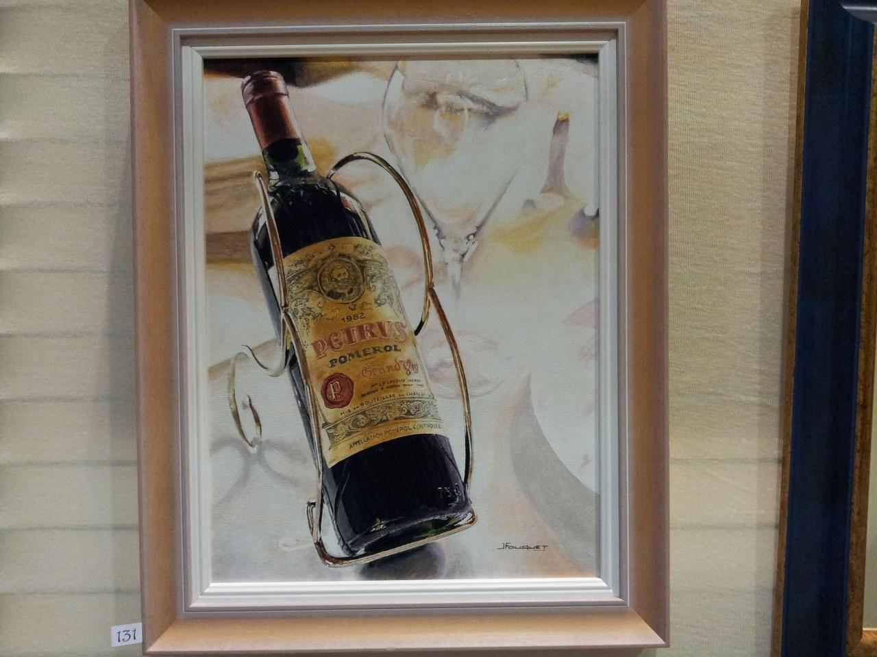 un tableau de Monsieur Jacques Fouquet