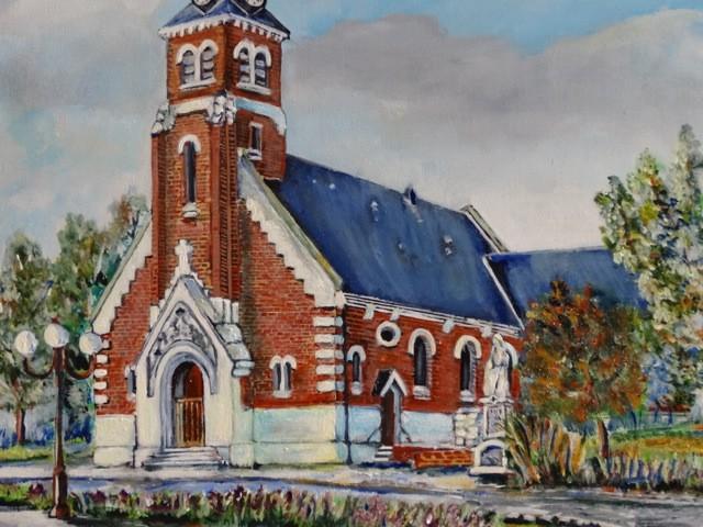 L'église d'Epehy par Monsieur Kanape