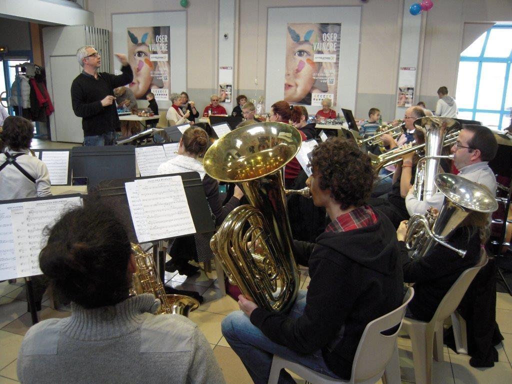 L'école de musique en concert