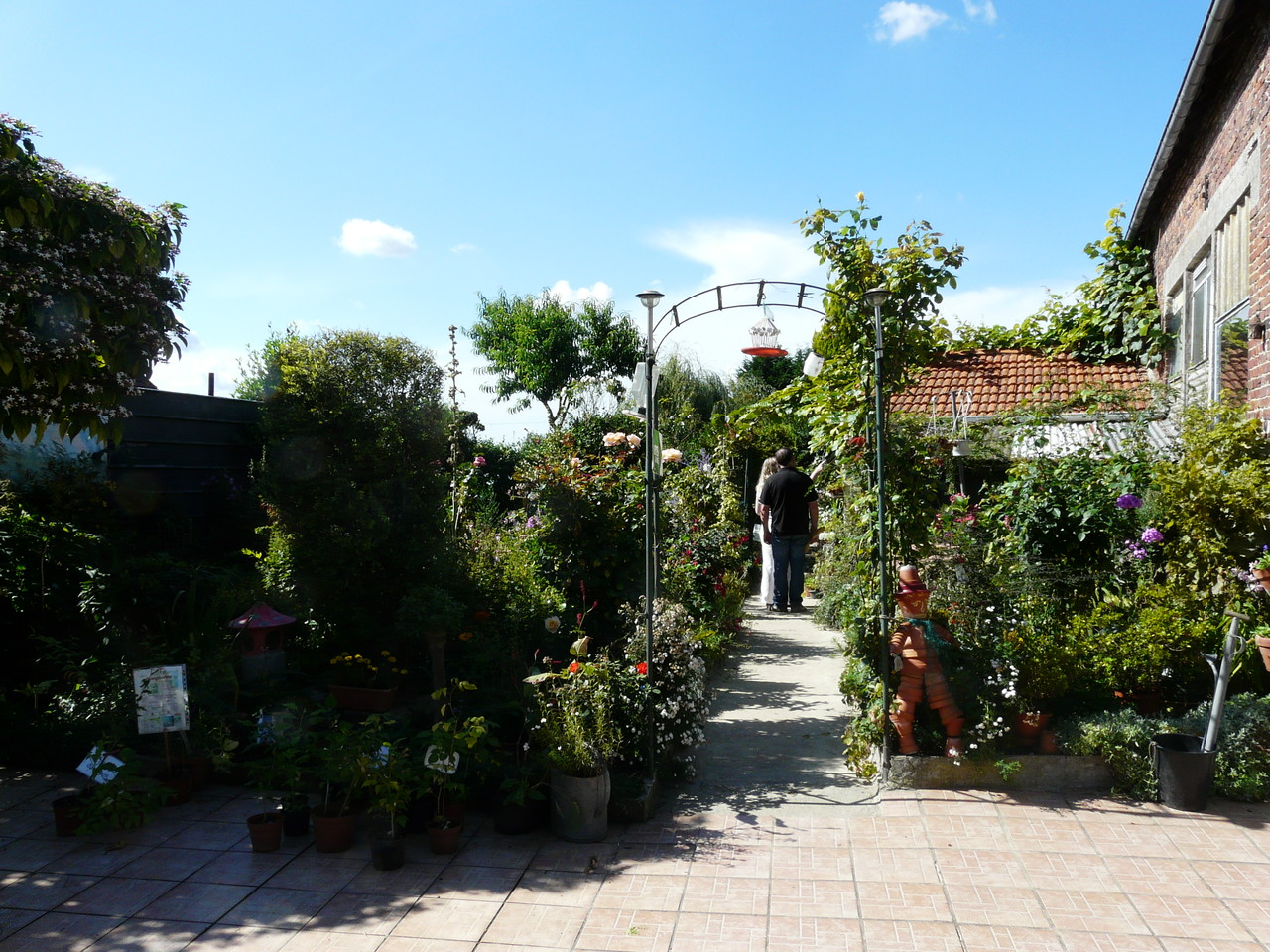 La visite du jardin