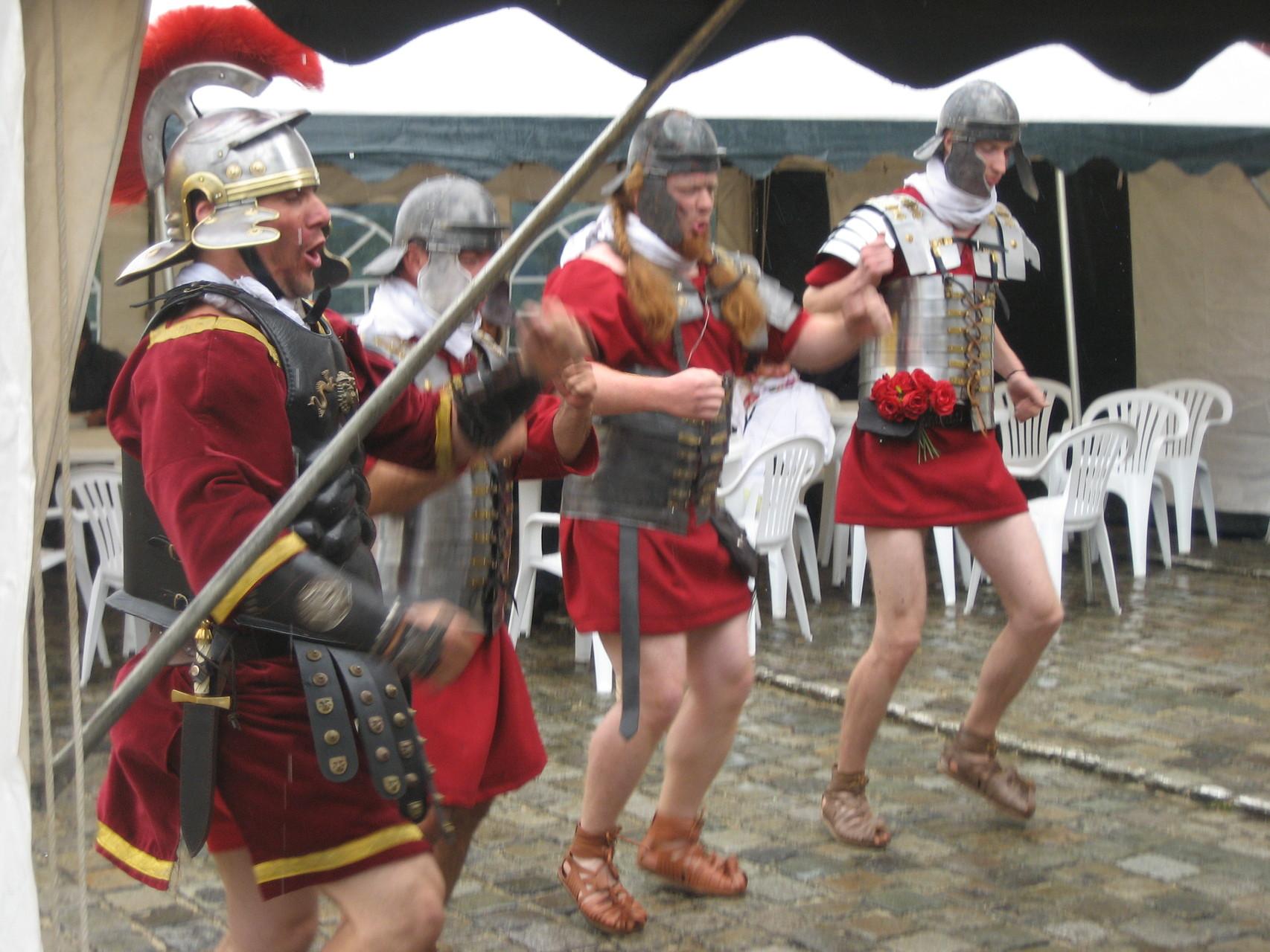 Les Romains sont toujours là !