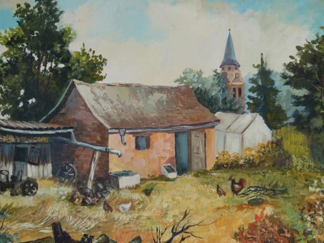 Un tableau de monsieur Martial Fouquet