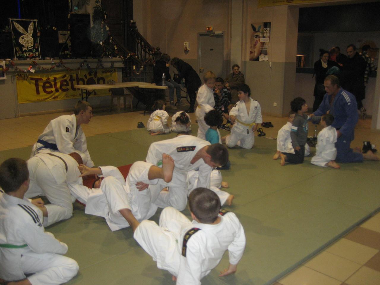 Les judokas ont encore fait de belles démonstrations