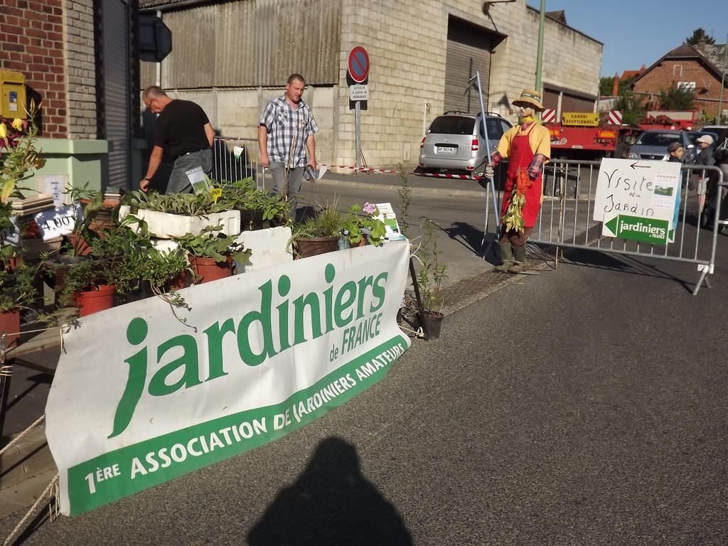 Le stand des jardiniers de France