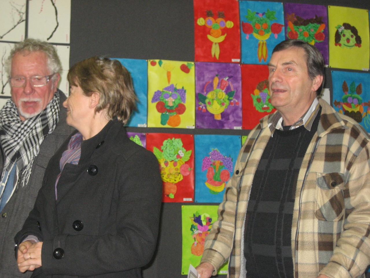 Monsieur Bernard David a reçu le prix du Comité des Animations