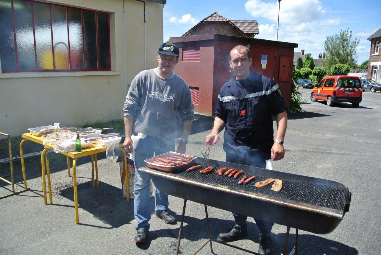 La viande cuit