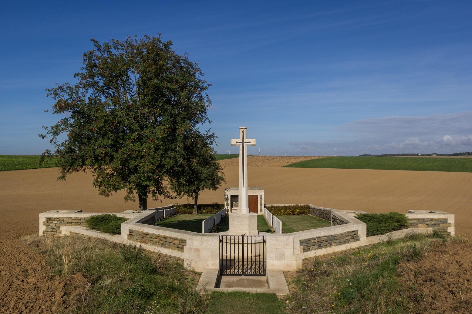 Pigeon Ravine British Cemetery