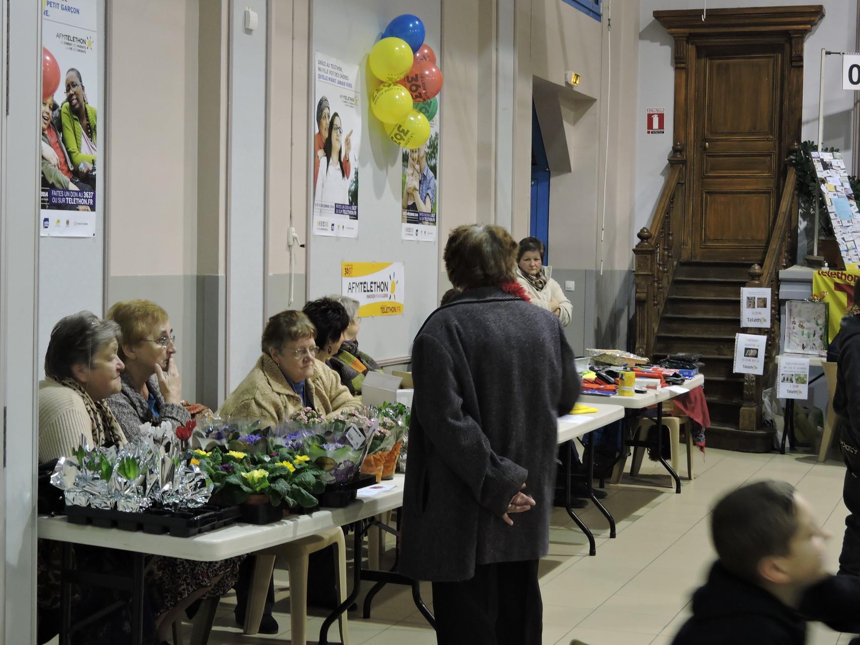 Les bénévoles étaient en place dès le vendredi