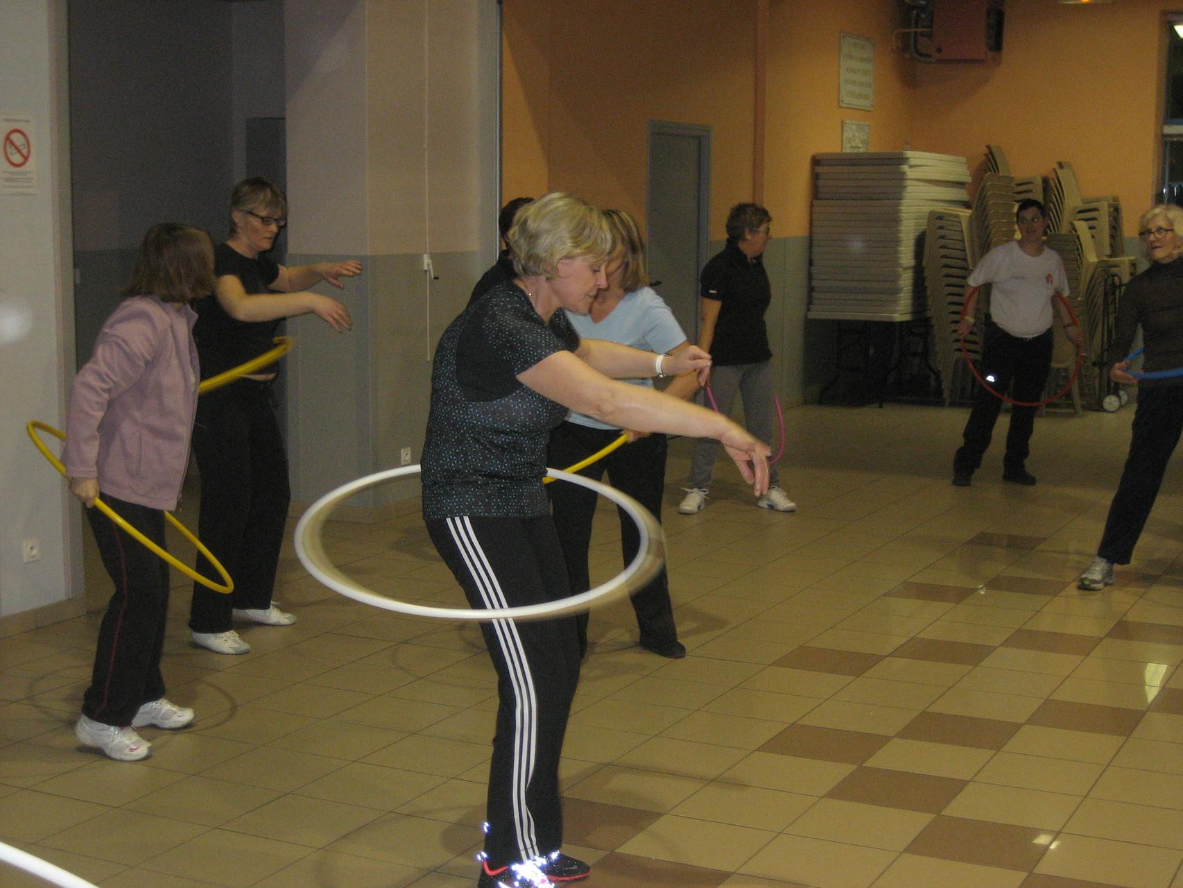 Et maintenant le hula hoop !