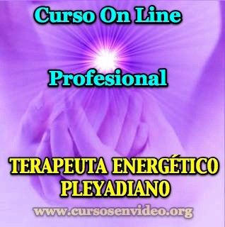 Curso profesional de TERAPEUTA energético PLEYADIANO
