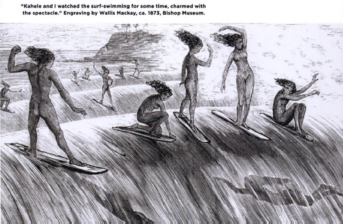 Les premières longboardeuses