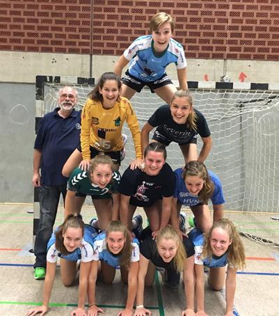 Weibliche A-Jugend des TuS Altwarmbüchen in der der Saison 2016/2017