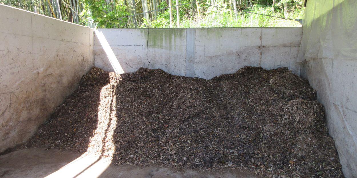 自家製の堆肥