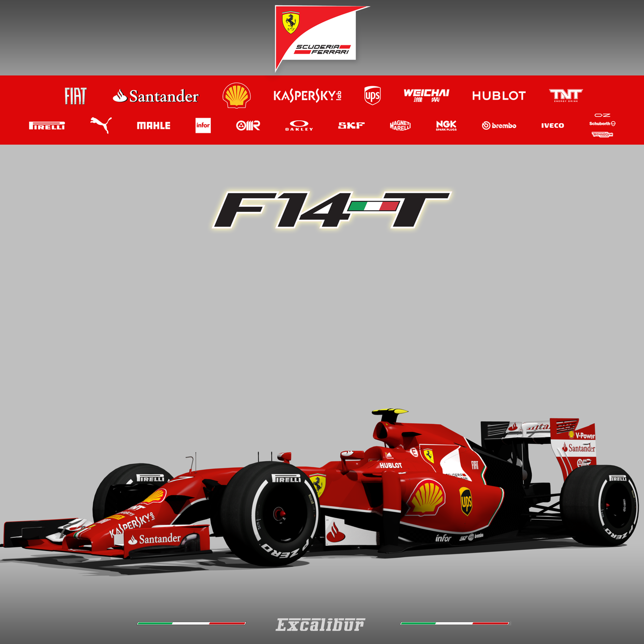 Ferrari F14T Early season